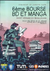 6ème Bourse à la BD et aux Mangas @ Salle des fêtes