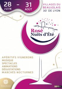 Rosé, Nuits d'été 2019 : Soirée d'ouverture @ Place du village